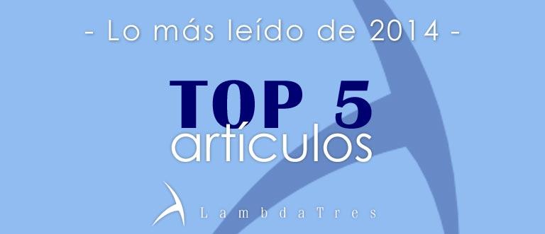 Top 5 artículos blog 2014