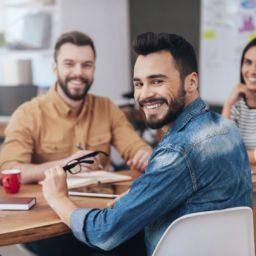 Trabajadores más felices