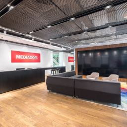 diseño moderno en oficina