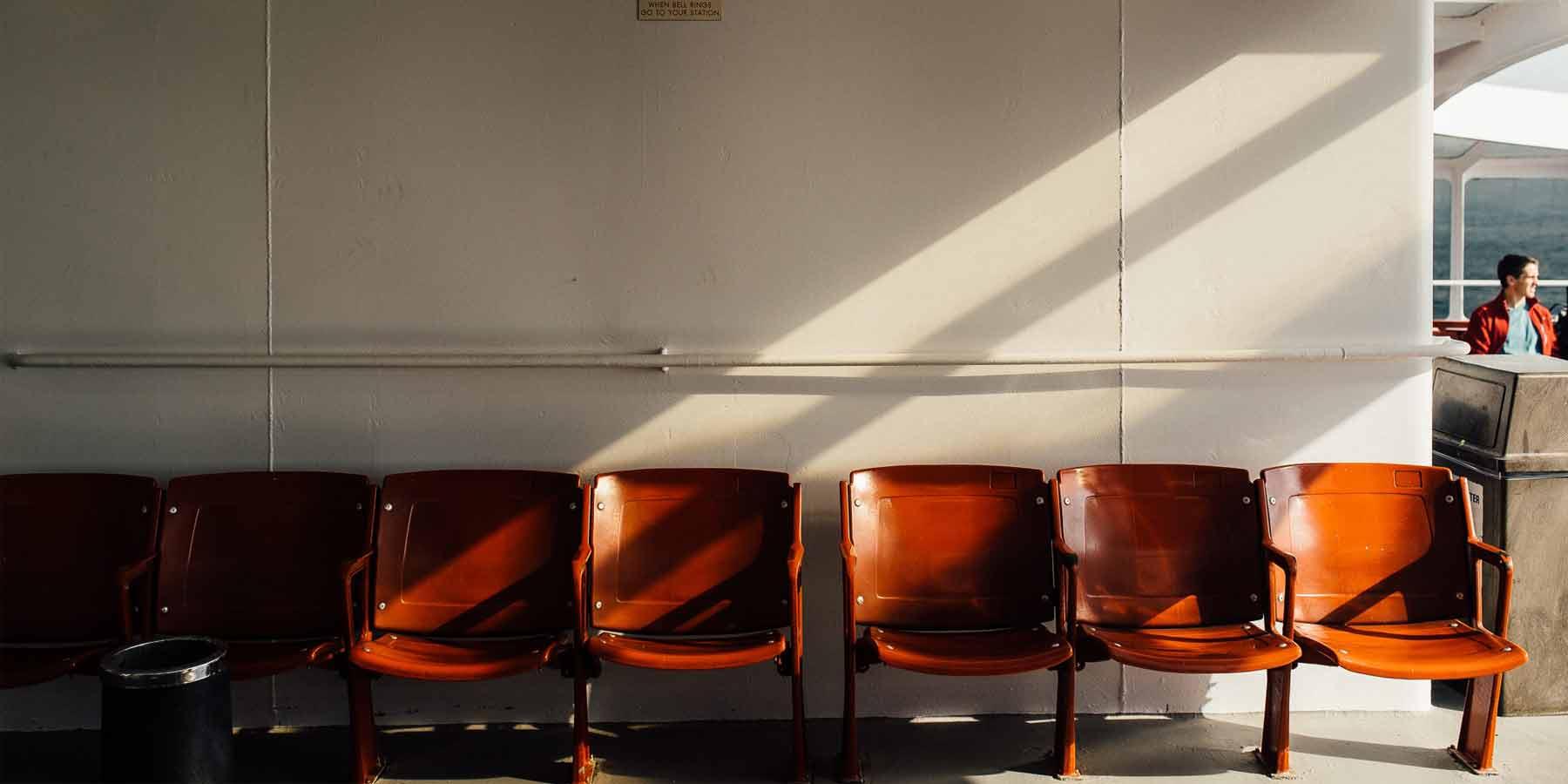 sala de espera inadecuada