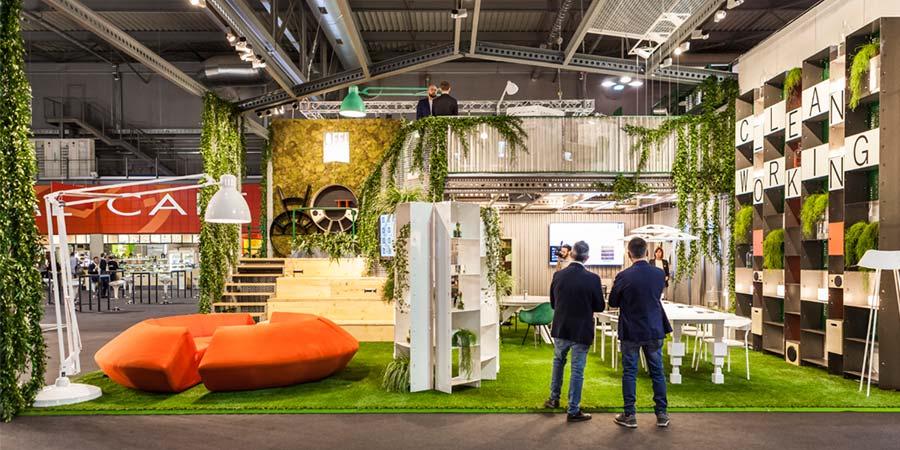 Feria de muebles de oficina 2017