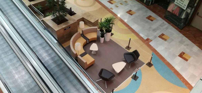 muebles para centros comerciales