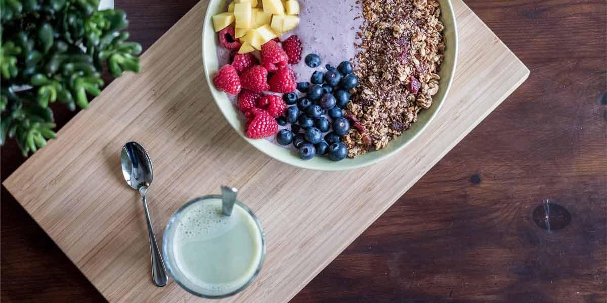 desayuno saludable antes de ir a trabajar