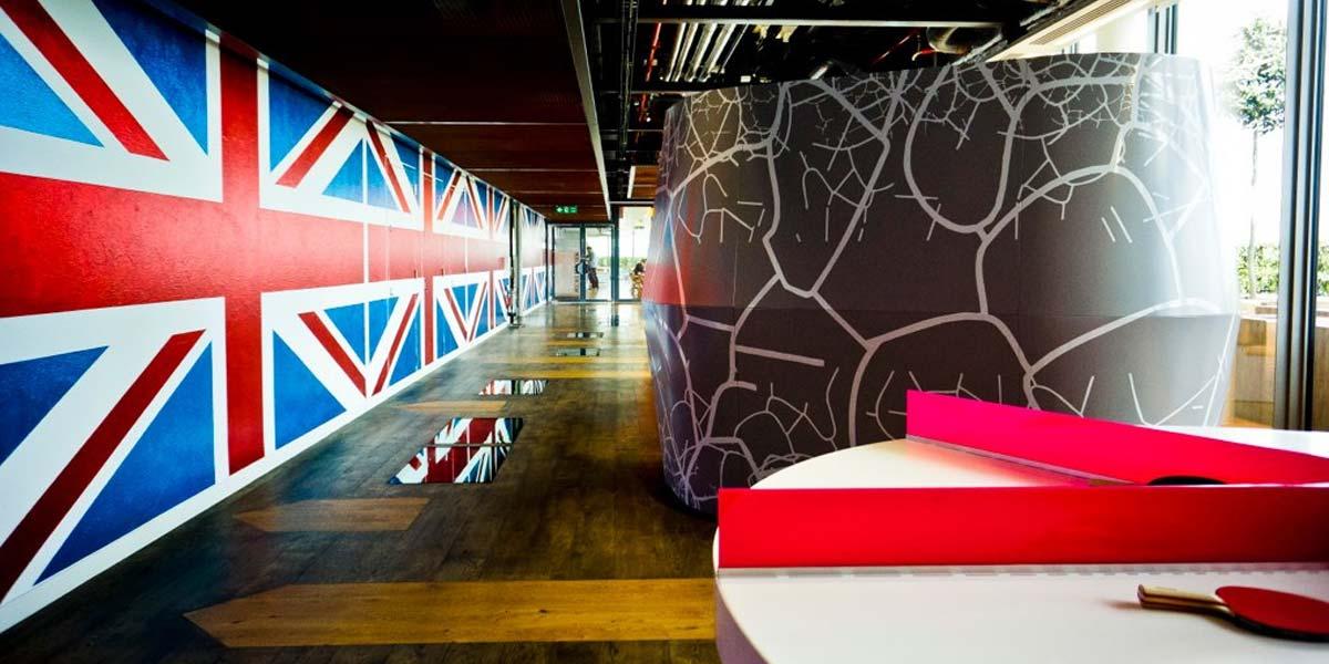 oficinas google uk