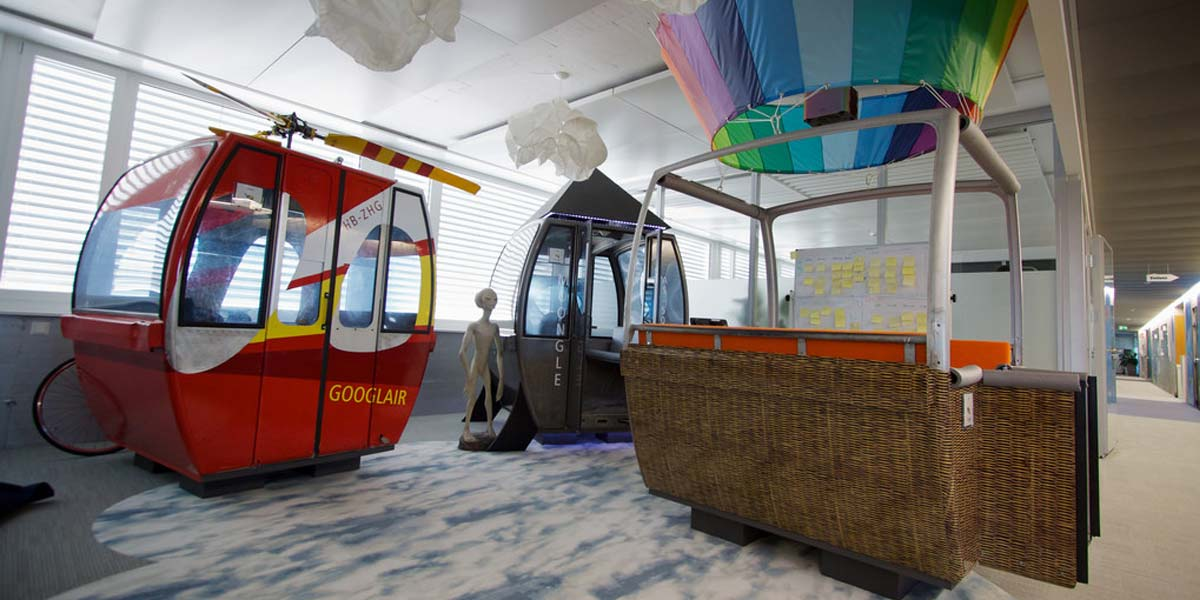 oficinas de google creativas