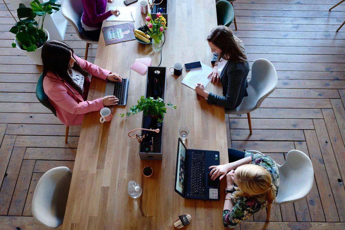 mobiliario para coworking