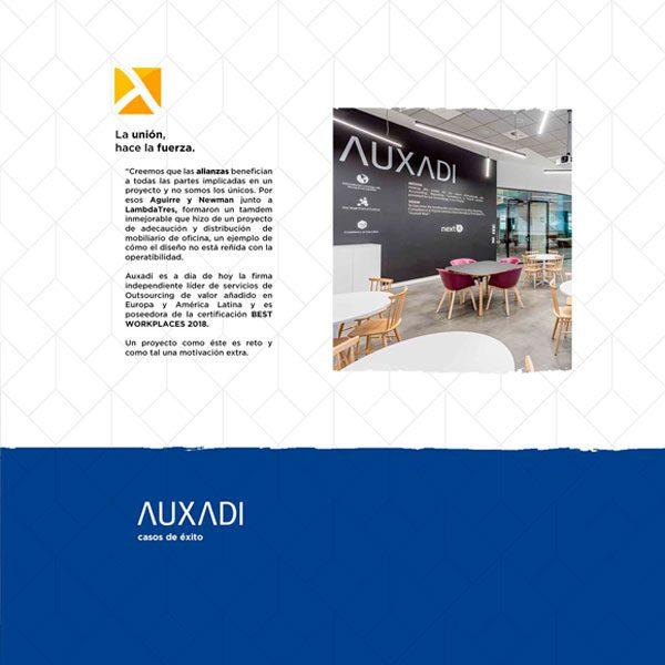 Infografía: Proyecto de Equipamiento de Mobiliario AUXADI