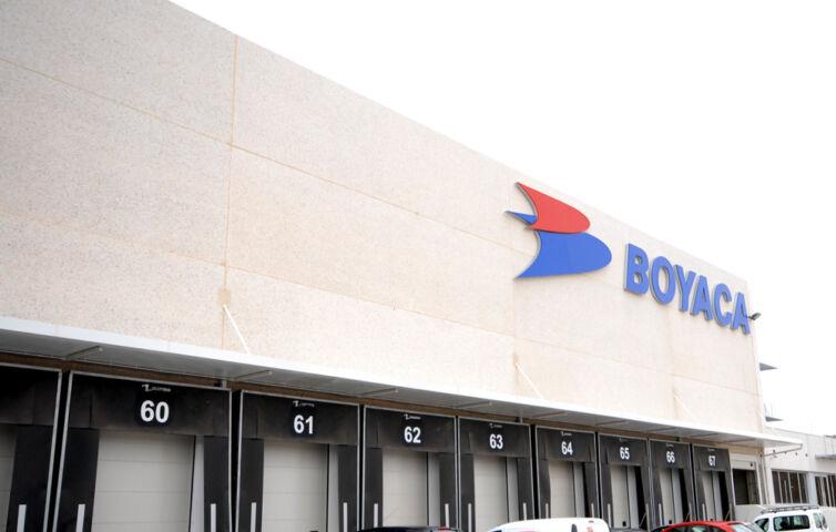 Instalaciones de Transportes Boyacá en Madrid