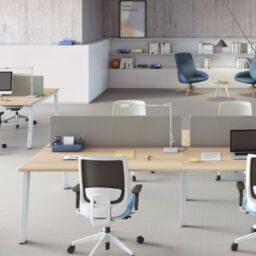 silla reclinable en tu oficina