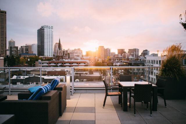 Ventajas de tener una terraza en la oficina