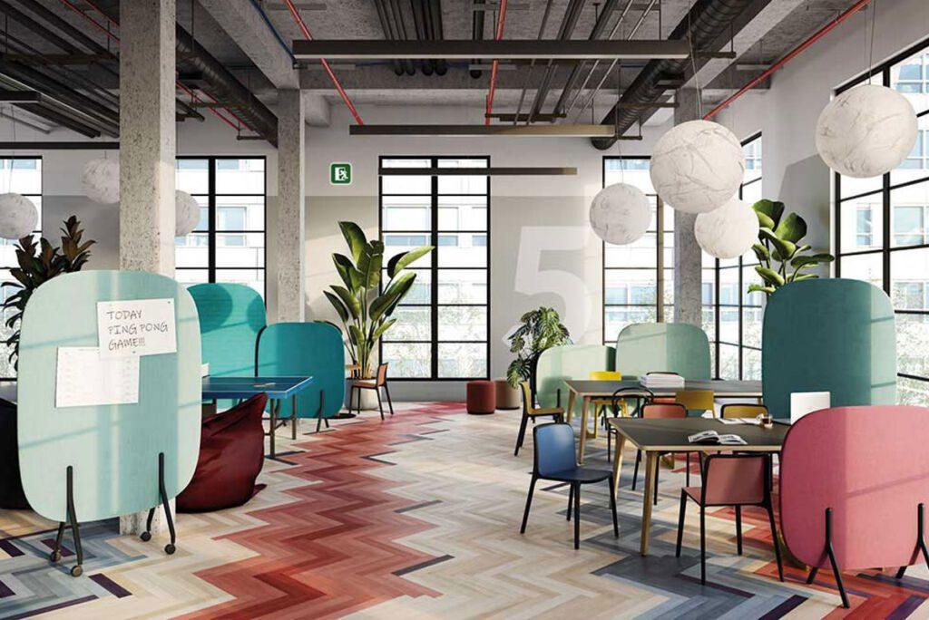 Diseños de oficina modulares