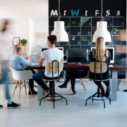 Espacios creativos en la oficina
